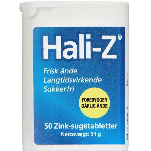 Køb Hali-Z sugetablet SFR 50 stk. online hos apotekeren.dk
