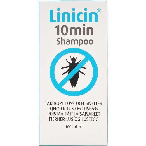 Køb Linicin 10 min Shampoo 100 ml online hos apotekeren.dk