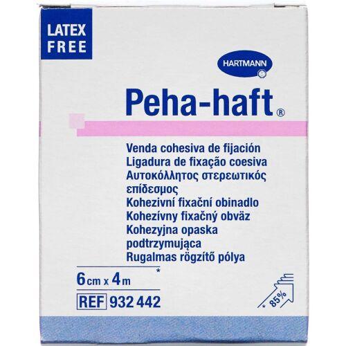 Køb Peha-haft fikseringsbind 6 cm x 4 m 1 stk. online hos apotekeren.dk
