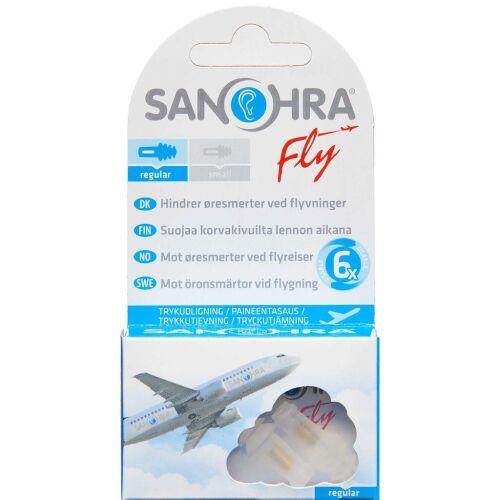 Køb SANOHRA Fly voksen ørepropper 1 par online hos apotekeren.dk