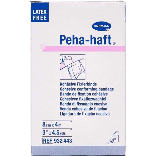 Køb Peha-haft fikseringsbind 8 cm x 4 m 1 stk. online hos apotekeren.dk