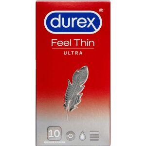 Køb Durex Feel Ultra Thin kondomer 10 stk. online hos apotekeren.dk