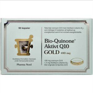 Køb Bio-Quinone Aktivt Q10 Gold kapsler 90 stk. online hos apotekeren.dk