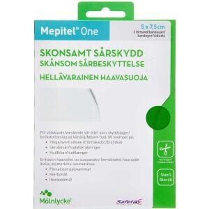 Køb Mepitel One 5x7,5 cm 2 stk. online hos apotekeren.dk