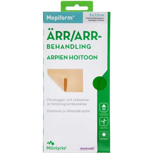 Køb Mepiform 5x7,5 cm 2 stk. online hos apotekeren.dk