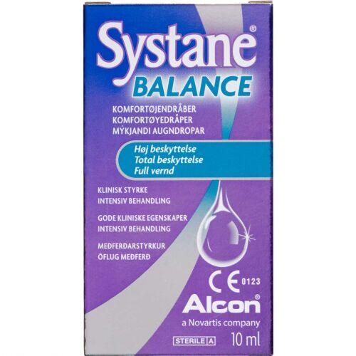 Køb Systane Balance øjendråber 10 ml online hos apotekeren.dk