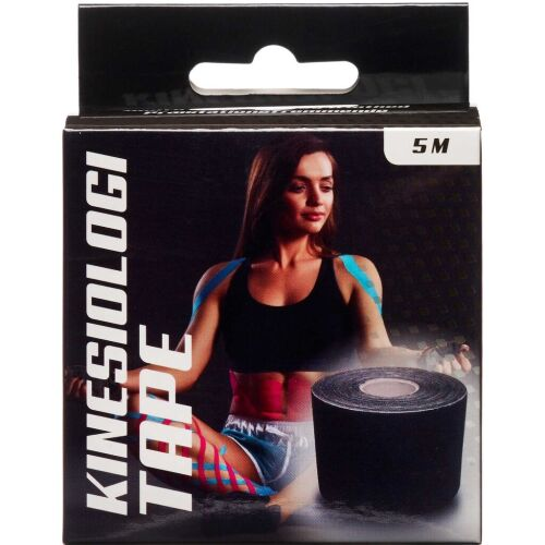 Køb Jasper Kinesiologi Tape sort 5 cm x 5 m 1 stk. online hos apotekeren.dk