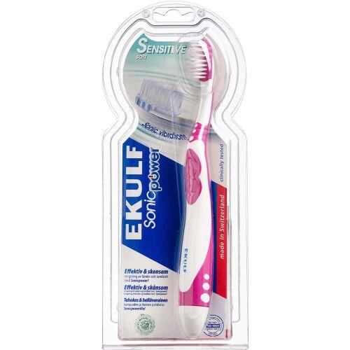 Køb EKULF SonicPower el-tandbørste 1 stk. online hos apotekeren.dk