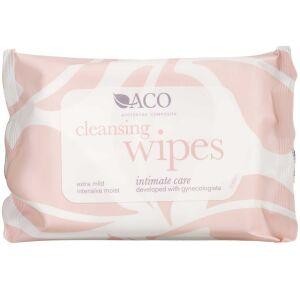 Køb ACO Intimate Care Cleansing Wipes 10 stk. online hos apotekeren.dk