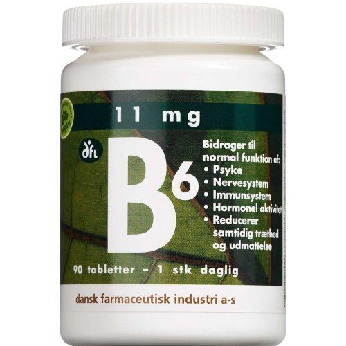 Køb B6-Vitamin tablet 90 stk online hos apotekeren.dk