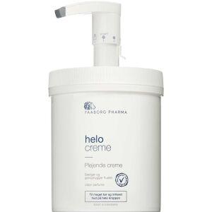 Køb Faaborg Pharma Helo Creme m. pumpe tør og irriteret hud 1000 ml online hos apotekeren.dk