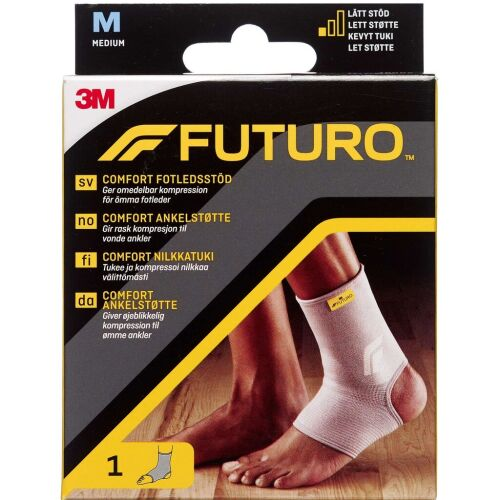 Køb Futuro Comfort Lift Ankelbandage Medium 1 stk. online hos apotekeren.dk