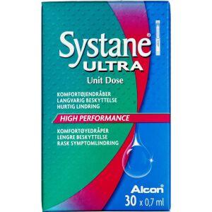 Køb Systane Ultra komfortøjendråber 30 x 0,7 ml online hos apotekeren.dk