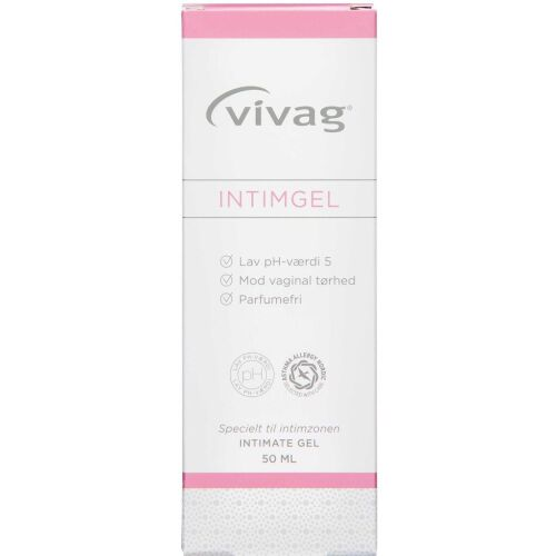 Køb Vivag Intimgel 50 ml online hos apotekeren.dk