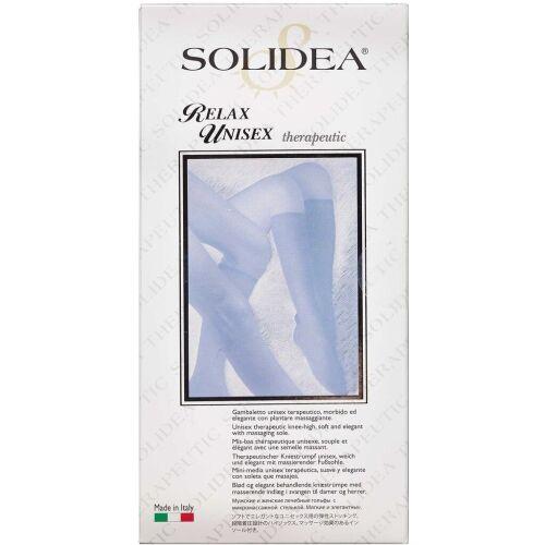 Køb Solidea Knæstrømpe Relax Unisex - sort small 1 stk. online hos apotekeren.dk