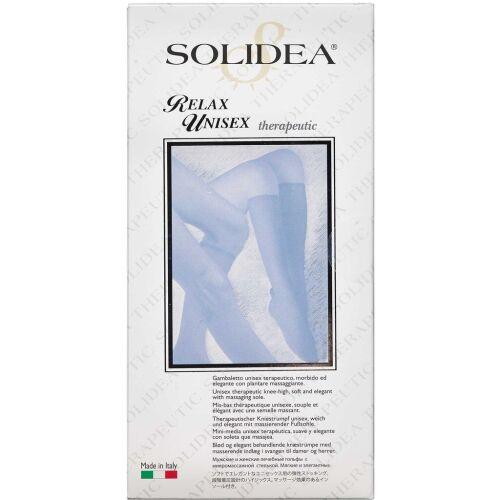 Køb Solidea Knæstrømpe Relax Unisex - natur xx-large 1 stk. online hos apotekeren.dk