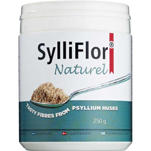 Køb SylliFlor Loppefrøskaller Naturel 250 g online hos apotekeren.dk