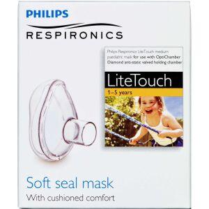 Køb Philips Respironics LiteTouch MEDIUM mask 1-5 år. 1 stk. online hos apotekeren.dk