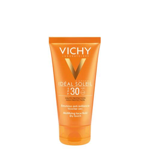 Køb Vichy Ideal Soleil Dry Touch solcreme SPF30 50 ml online hos apotekeren.dk
