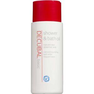 Køb Decubal shower & bath oil 200 ml online hos apotekeren.dk