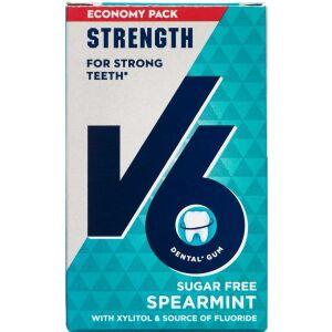 Køb V6 Økonomipakke Strong Teeth med fluortyggegummi 50 stk. ca. online hos apotekeren.dk