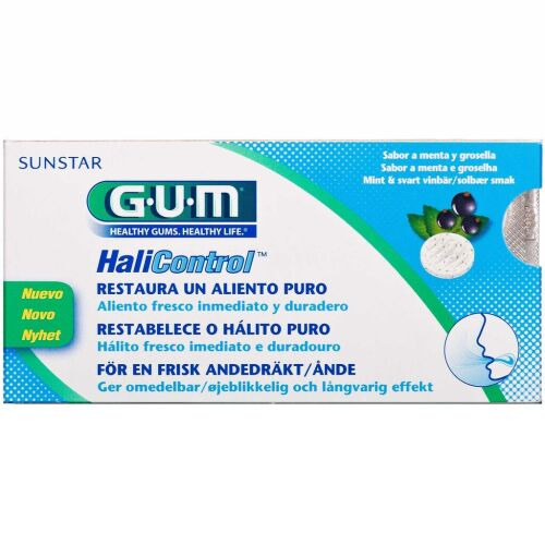 Køb GUM HaliControl Sugetabletter 10 stk. online hos apotekeren.dk