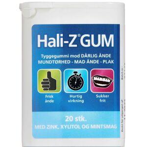 Køb Hali-Z tyggegummi 20 stk. online hos apotekeren.dk