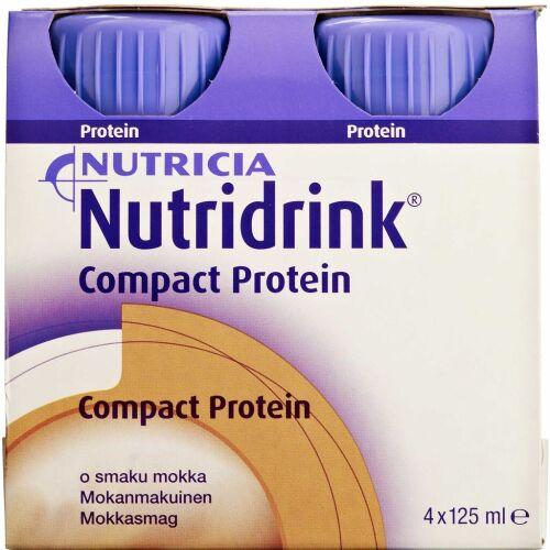 Køb Nutridrink Compact Protein Mocca 4 x 125 ml online hos apotekeren.dk