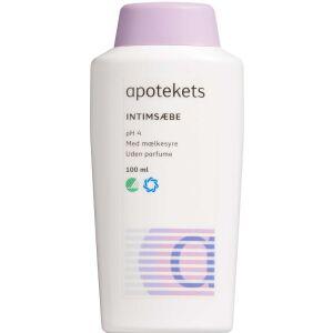 Køb Apotekets Intim Sæbe 100 ml online hos apotekeren.dk