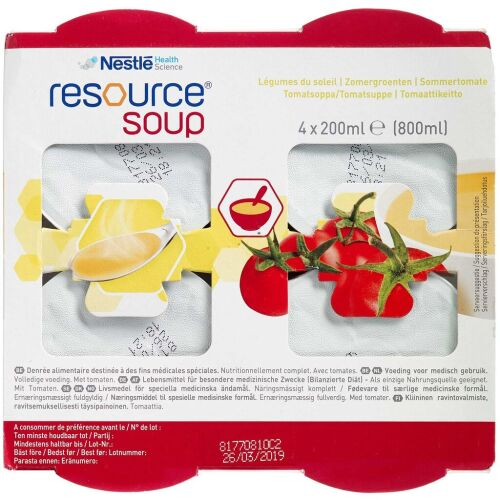 Køb Resource Soup Tomat 4 x 200 ml online hos apotekeren.dk