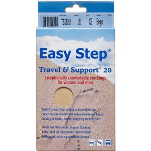 Køb Easy Step knæ travel mix beige 37-39 1 par online hos apotekeren.dk