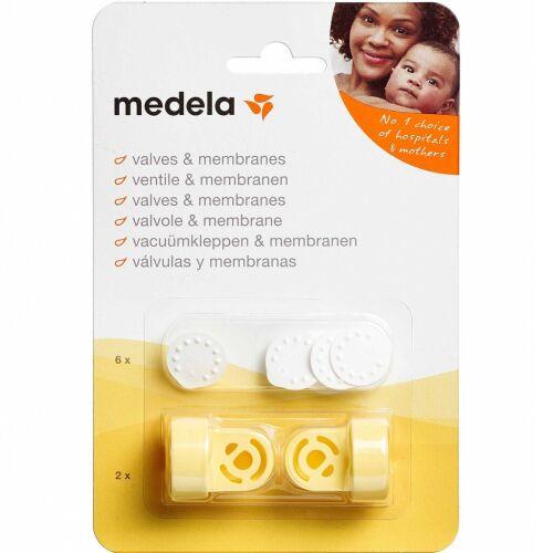 Køb Medela ventil & membran sæt 1 sæt online hos apotekeren.dk