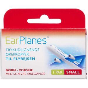 Køb EarPlanes small - trykudlignende øreprop 1 par online hos apotekeren.dk