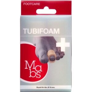 Køb Mabs Tubifoam 10 cm ø 15 mm 2 stk. online hos apotekeren.dk