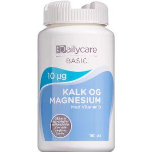 Køb Dailycare Kalk med Magnesium og Vitamin D 180 stk. online hos apotekeren.dk