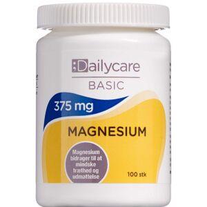 Køb Dailycare Magnesium 375 mg 100 stk. online hos apotekeren.dk
