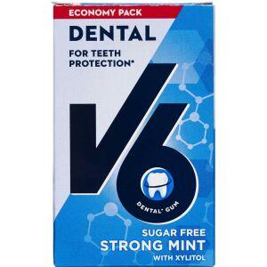 Køb V6 Økopakke Strong Mint ca. 50 stk. online hos apotekeren.dk