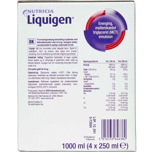 Køb MCT Liquigen Olie 4 x 250 ml online hos apotekeren.dk