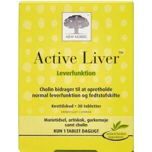 Køb Active Liver tabletter 30 stk. online hos apotekeren.dk