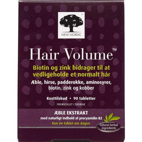 Køb Hair Volume tabletter 90 stk. online hos apotekeren.dk