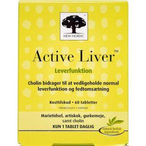 Køb Active Liver tabletter 60 stk. online hos apotekeren.dk