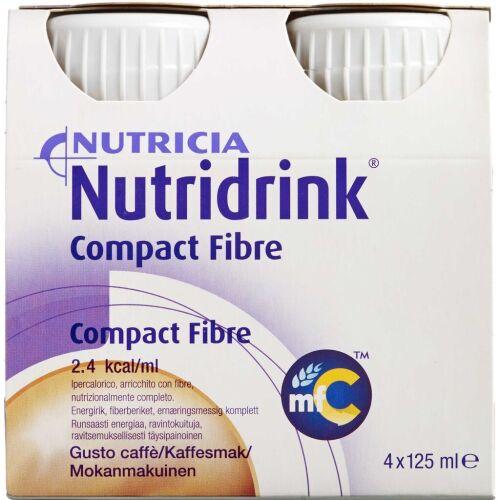 Køb Nutridrink Compact Fibre Mocca 4 x 125 ml online hos apotekeren.dk