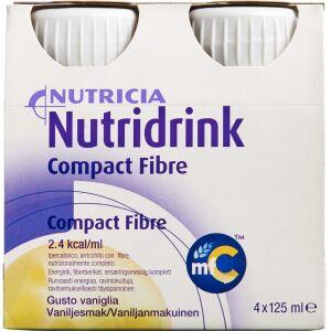 Køb Nutridrink Compact Fibre Vanille 4 x 125 ml online hos apotekeren.dk