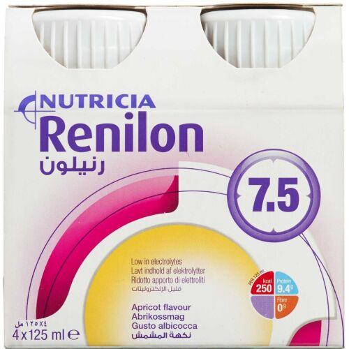 Køb Renolin 7.5 Abrikos 4 x 125 ml online hos apotekeren.dk