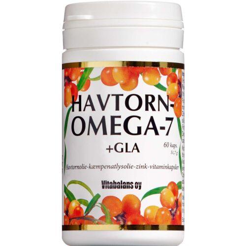 Køb Havtorn Omega 7 +GLA kapsler 60 stk. online hos apotekeren.dk