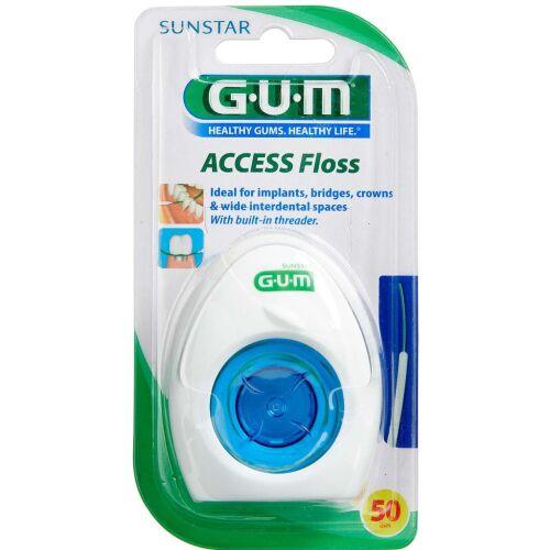 Køb GUM ACCESS tandtråd box 50 stk. online hos apotekeren.dk