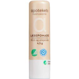 Køb Apotekets læbepomade uden parfume 4,5 g. 1 stk. online hos apotekeren.dk