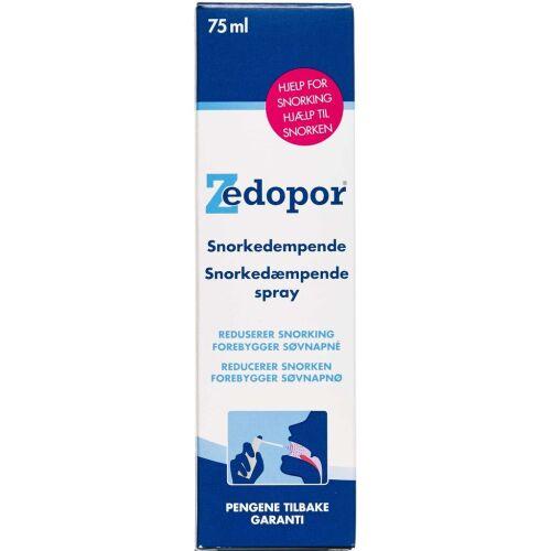 Køb Zedopor Spray 75 ml online hos apotekeren.dk