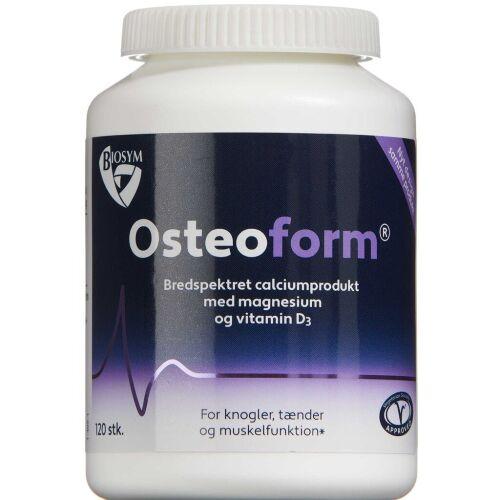 Køb Osteoform tabletter 120 stk. online hos apotekeren.dk