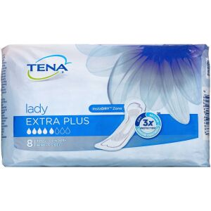 Køb TENA Lady Extra Plus til let inkontinens 8 stk. online hos apotekeren.dk